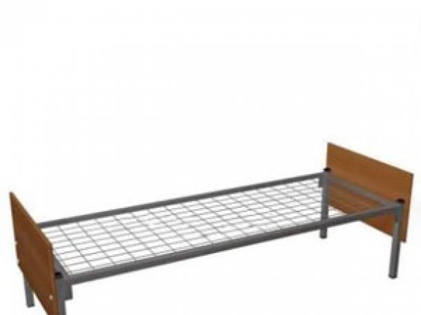 Кровати металлические для детских лагерей, кровати для гостиниц, кровати для рабочих, кровати для турбаз., фотография 1