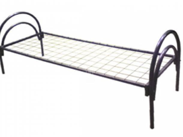 Кровати металлические для детских лагерей, кровати для гостиниц, кровати для рабочих, кровати для турбаз., фотография 10