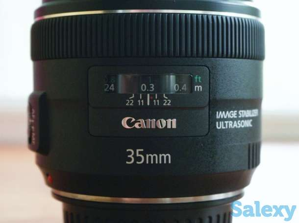 Объектив Canon EF 35mm f/2 IS USM в Алматы, фотография 2