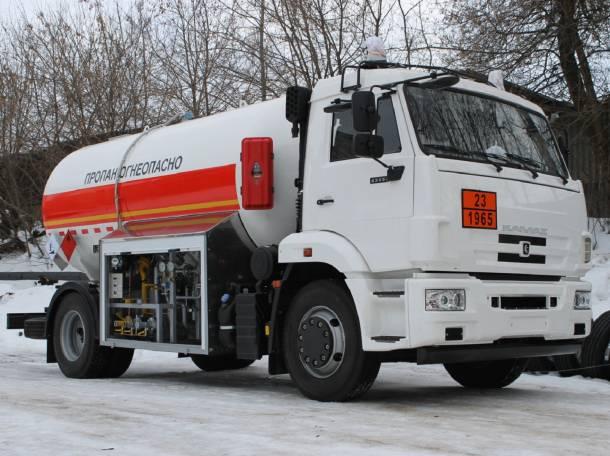 Автоцистерну  для транспортировки и временного хранения СГУ на базе шасси КАМАЗ 43253, с ПТС., фотография 1