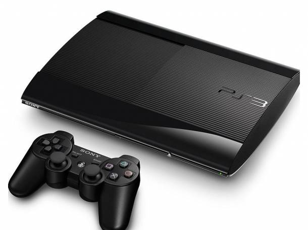 Продам Sony Playstation 3 500GB Super Slim Console in Black, фотография 1