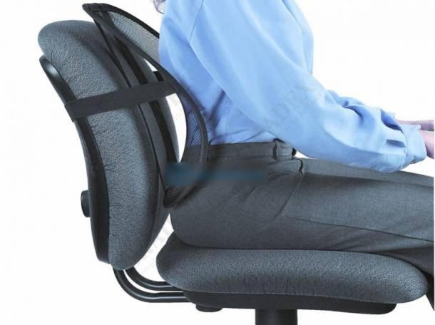 Ортопедическая спинка-подушка для авто и офиса, фотография 1