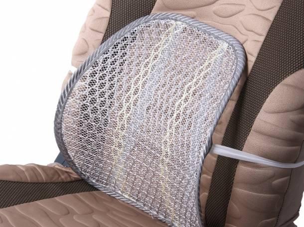 Ортопедическая спинка-подушка для авто и офиса, фотография 2