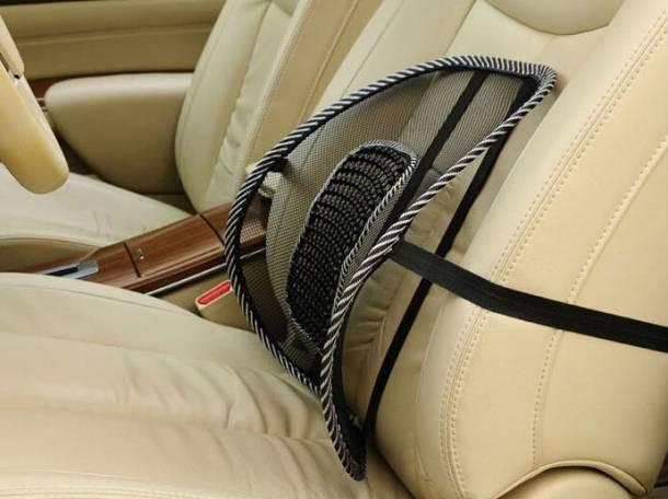 Ортопедическая спинка-подушка для авто и офиса, фотография 3