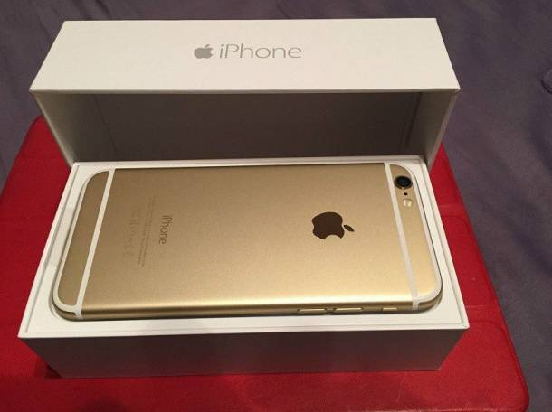 iPhone 6 Plus 64Gb Gold, фотография 1