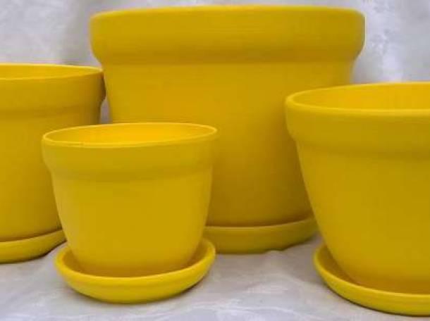 Керамические горшки для цветов!, фотография 3