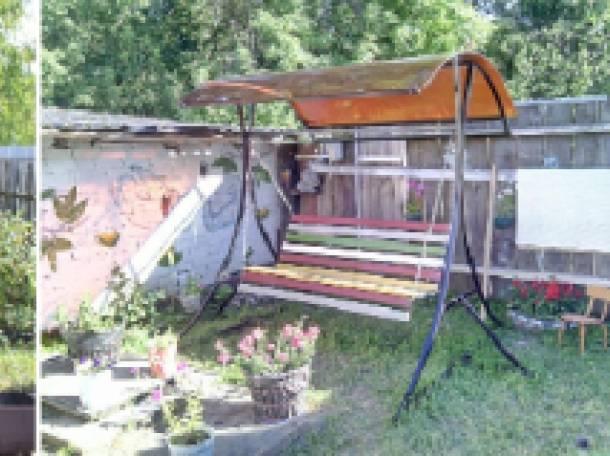 Садовые, разборные качели, фотография 1