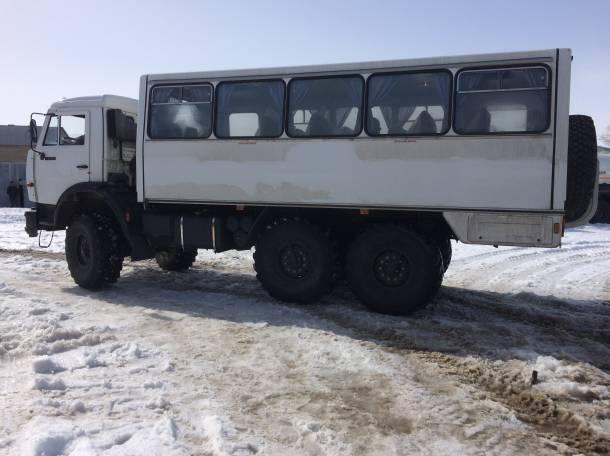 Продам новый вахтовый автобус, НЕФАЗ на шасси КАМАЗ, фотография 1