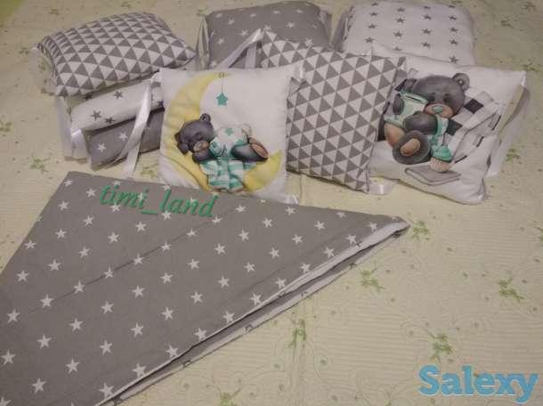 Бортики в кроватку, конверт на выписку, фотография 6