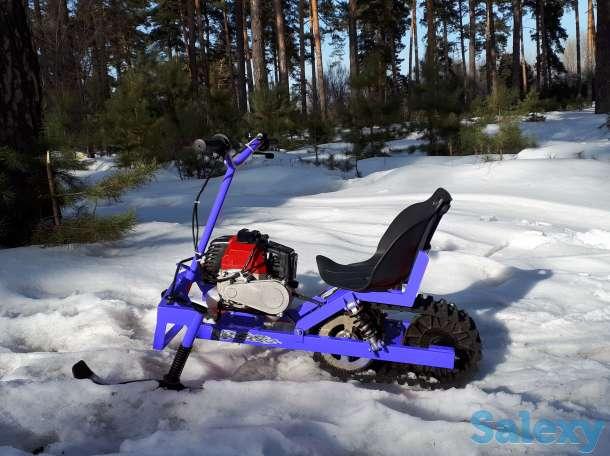 Мини-снегоход rocky, фотография 4