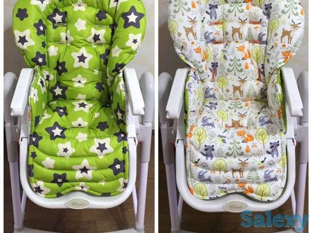 Чехлы на детские стульчики для кормления : Chicco Polly, Tatamia, Justin, Happy baby и др, фотография 11