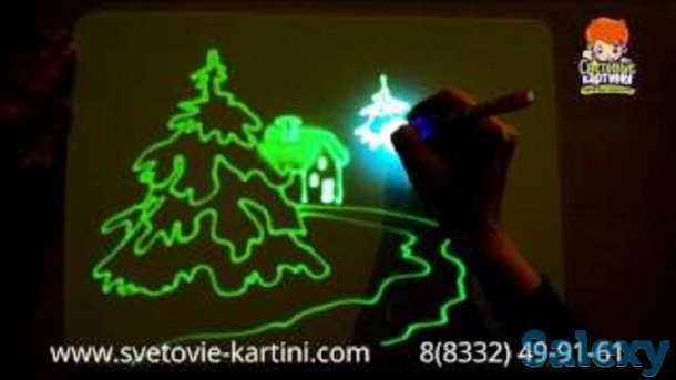 Детский интерактивный набор для рисования в темноте