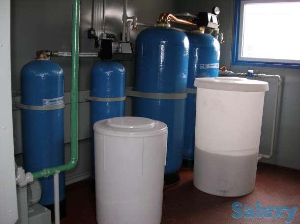 Катионит, паровой котел Е1.0-0.9М-3, водоподготовительная установка ВПУ, фотография 3