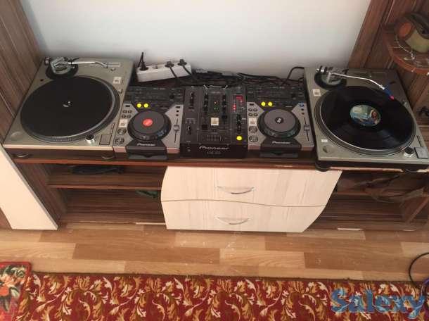 Pioneer CD400 и Technics SL1200, фотография 1