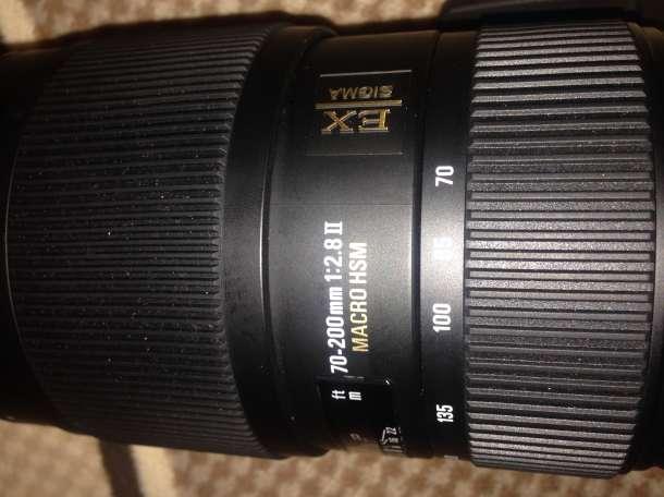 Продам объектив Sigma 70-200mm f 2.8 apo ex dg hsm macro на Nikon, фотография 2