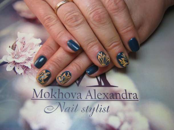 Маникюр ,гель покрытие,различный дизайн ногтей,высокое качество, фотография 12