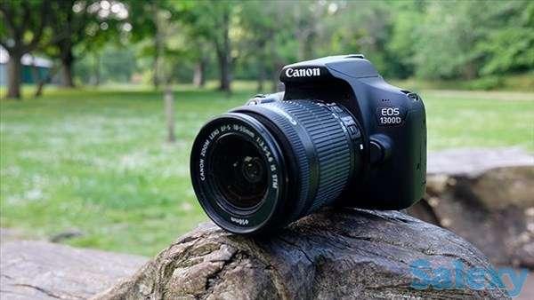 Продам фотоаппарат CANON 1300D, фотография 1