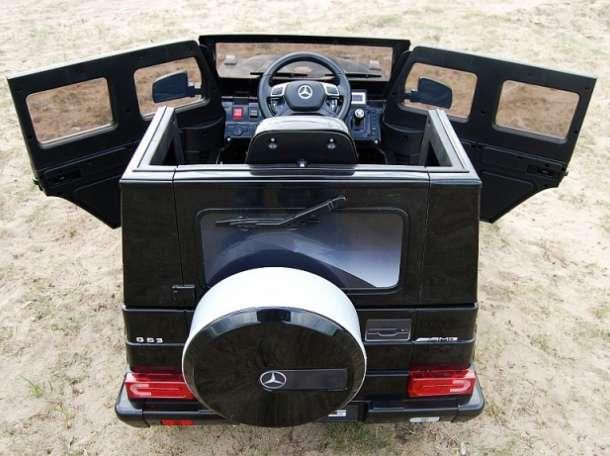 Детский электромобиль MERCEDES G63 AMG, фотография 6