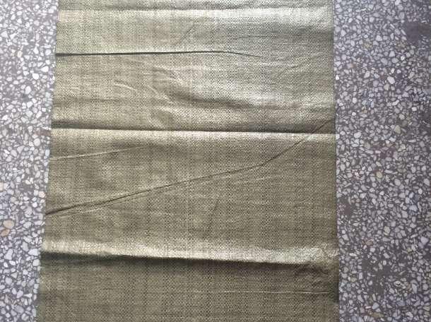 мешок полипропиленовый зеленый 55×95 , фотография 1