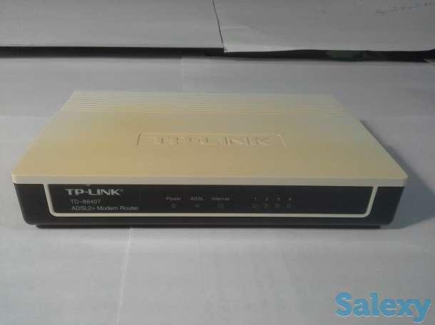 Продам модем роутер TP-LINK TD-8840T ADSL2+, 4-Port, ipTV ready, фотография 3