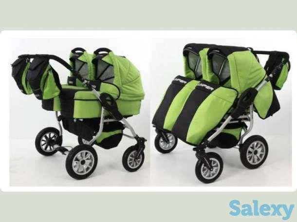 детская коляска для Двойни, фотография 1
