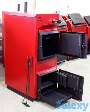 WIRT Smart  20 кВт – универсальный котел длительного горения S до 200 м2. Комплектуется термометром и регулятором тяги, фотография 3
