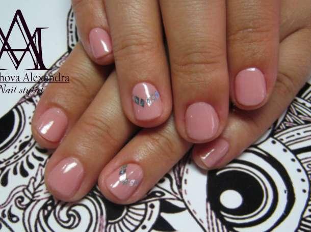 Маникюр ,гель покрытие,различный дизайн ногтей,высокое качество, фотография 6
