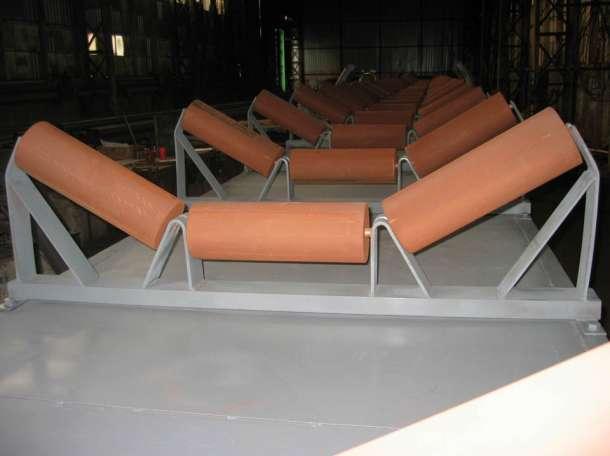 Роликоопоры на конвейер, фотография 2