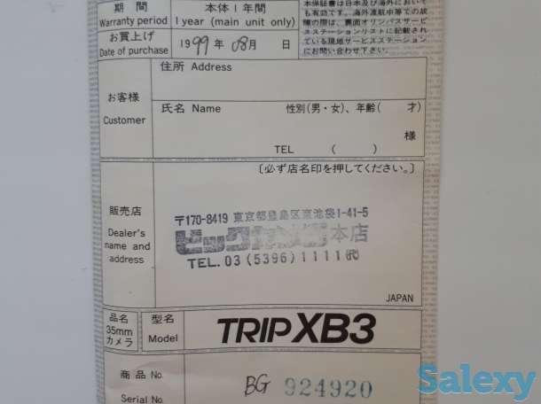 Редкая японская фотоплёночная камера OLYMPUS TRIP XB3, фотография 4