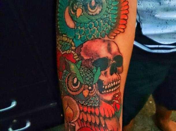 Художественные татуировки разной сложности!, фотография 2