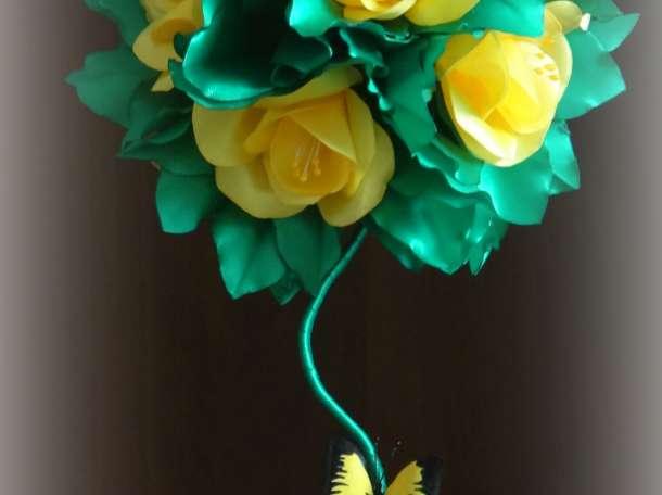 Топиарий-оригинальное украшение интерьера, подарок к любому празднику, фотография 2