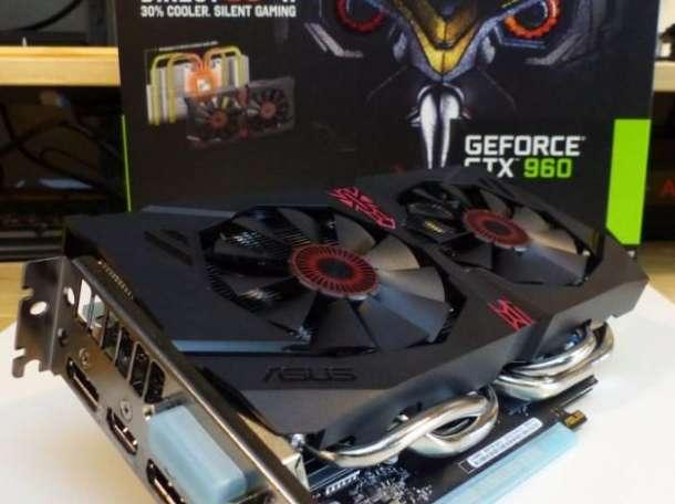Продам видеокарту ASUS STRIX NVIDIA GeForce GTX 960 OC, фотография 1