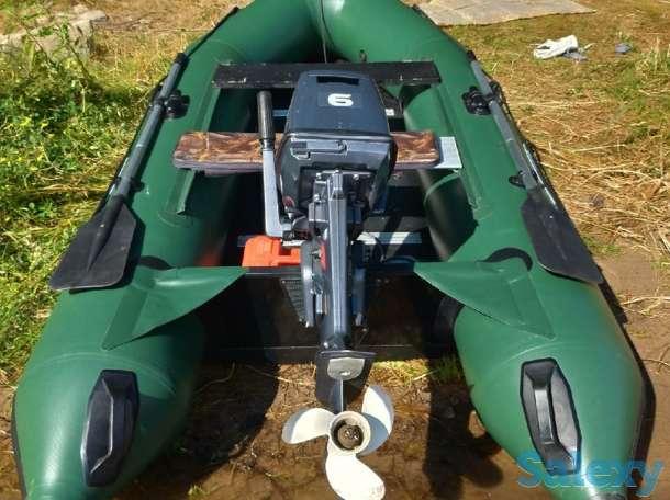 Продам лодку Gladiator с мотором Yamaha 6CMHS, фотография 1