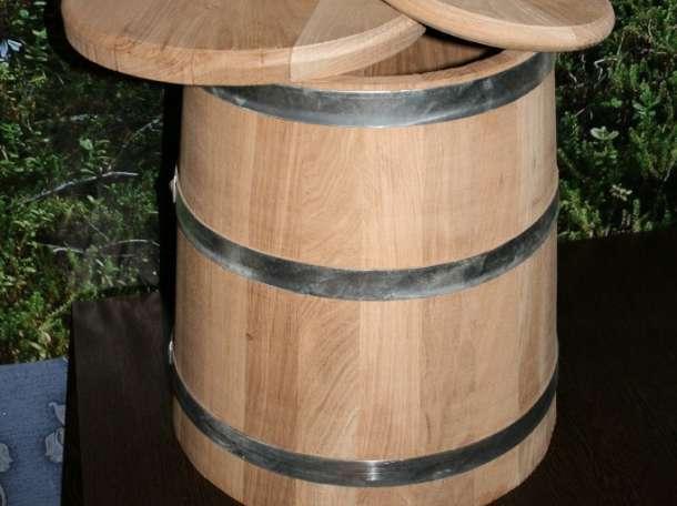 Кадка дубовая для засолки 50литровая, фотография 1