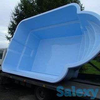 Композитный стеклопластиковый бассейн софия 5х3х1,6 м, фотография 4