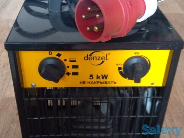 Тепловентилятор в Астане,на 5кВт,питание 380В, фотография 1