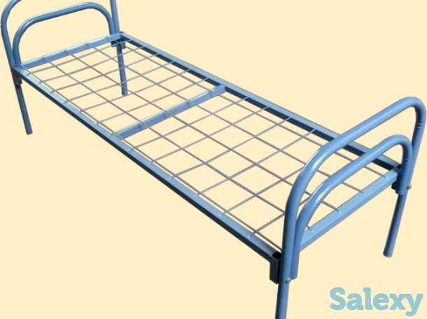 Металлические кровати эконом класса, двухъярусные кровати, фотография 2