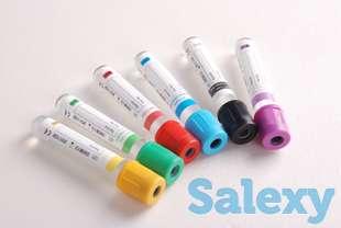 Вакуумные пробирки для забора крови, фотография 1