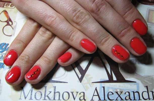 Маникюр ,гель покрытие,различный дизайн ногтей,высокое качество, фотография 8