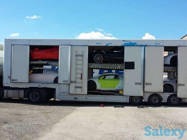Продается прицеп крытого автовоза KASSBОHRER., фотография 1