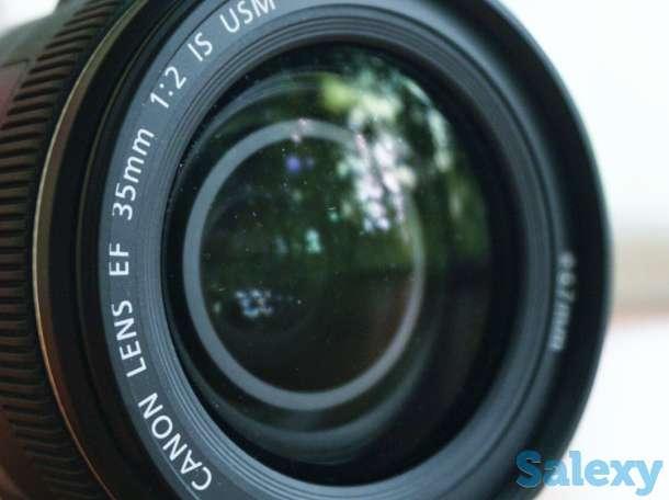 Объектив Canon EF 35mm f/2 IS USM в Алматы, фотография 1