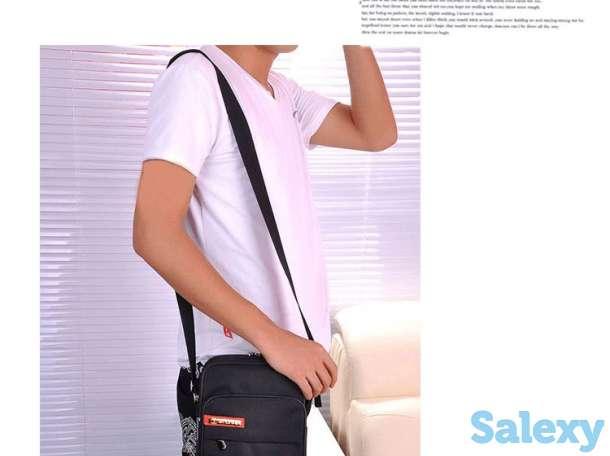 Черная сумка через плечо, фотография 1