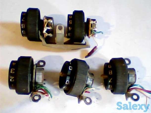 Резисторы-регуляторы уровня сигнала б/у от магнитофона, фотография 1