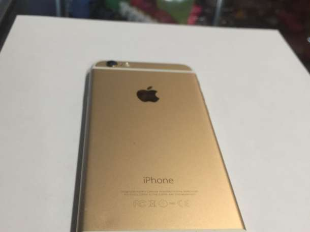 Продам IPhone 6 gold - 64 gb! , фотография 1