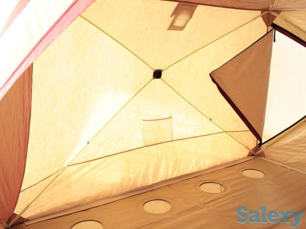 Палатка для Зимней Рыбалки Снегирь 2Т 3Т 4Т Long, фотография 4