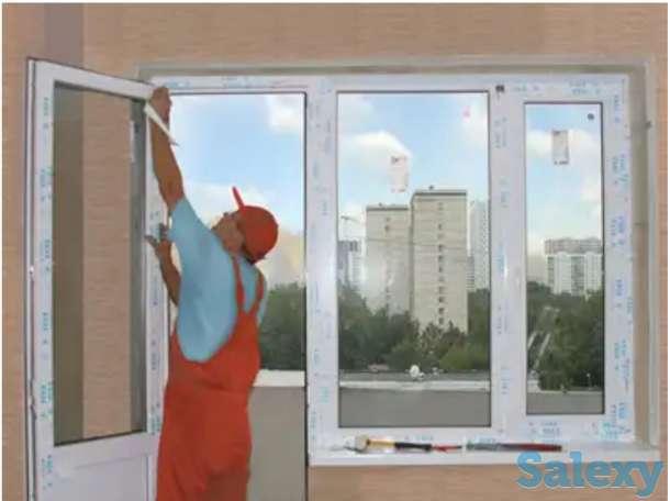 Пластиковые окна, двери, витражи., фотография 1
