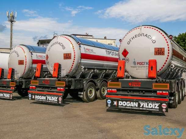 Продажа полуприцеп цистерна Суг Dogan Yildiz Dyz, фотография 1