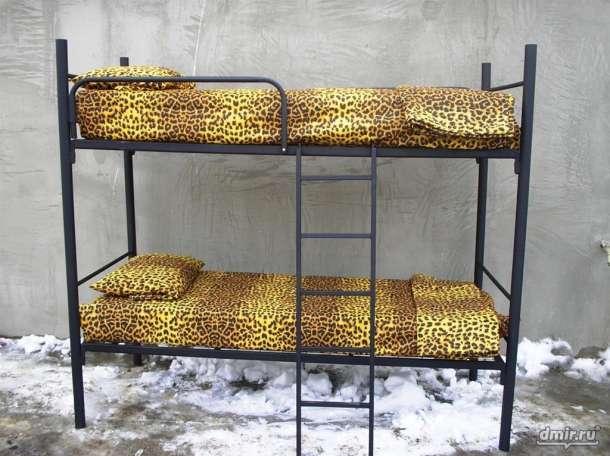 Армейские металлические кровати, кровати для вагончиков, кровати для санаториев., фотография 3