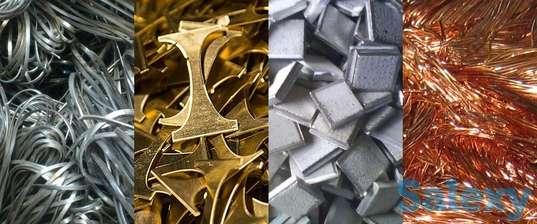 Оптовая скупка лома цветных, черных и редкоземельных металлов, фотография 1