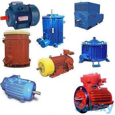 Электродвигатели ДАЗО, А4,  АК4, ВАО, ВАСО, 2АЗМВ, 4АЗВ, фотография 1